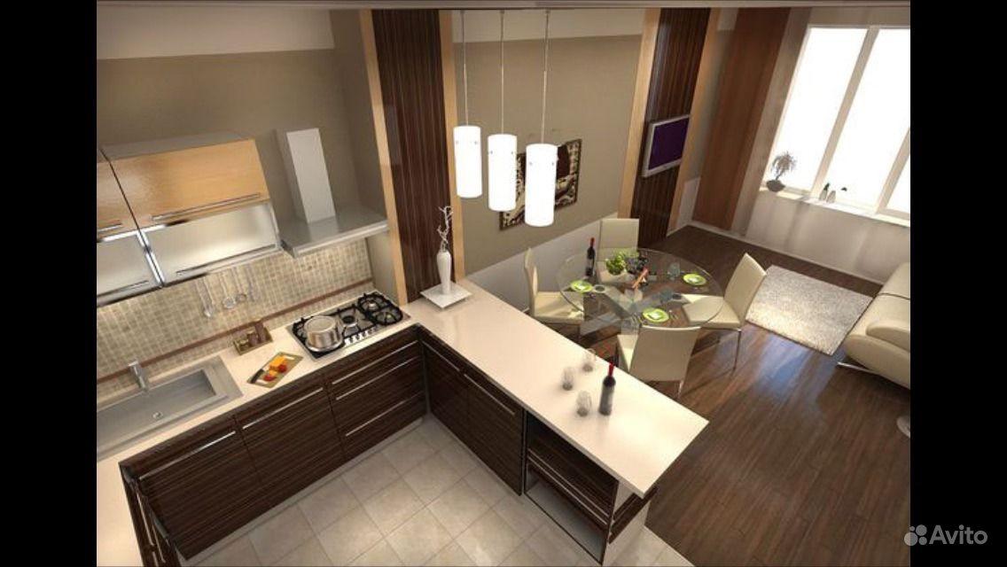 Дизайн кухни совмещенной с гостиной дизайн кухни - фото, опи.