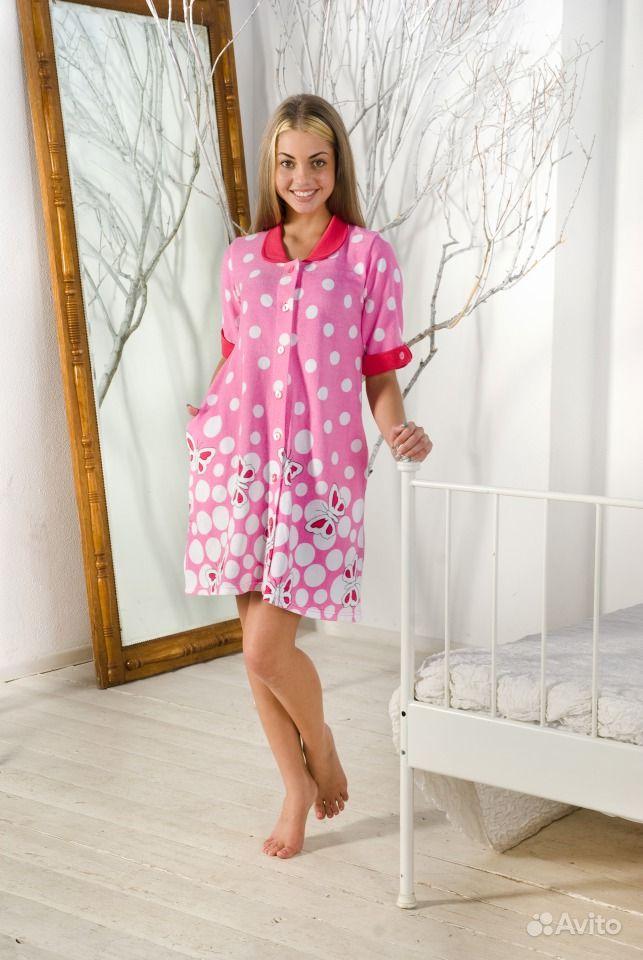 Платье из халата