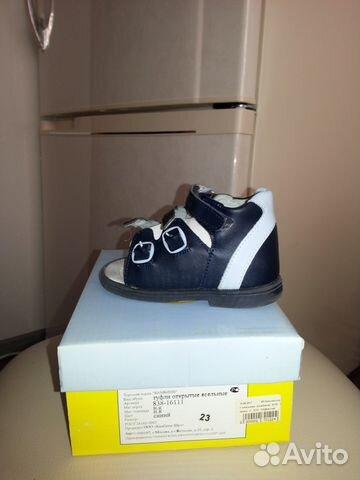 Продаются новые кожаные сандали для мальчика 89091985318 купить 1