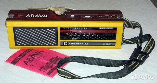 Радиоприёмник abava рп-8330