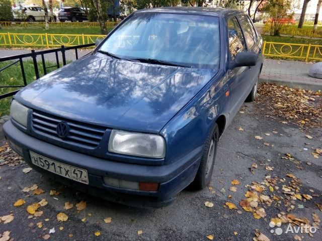 Фольксваген венто 1992 ремонт