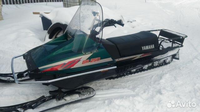Yamaha br250t обзор снегохода