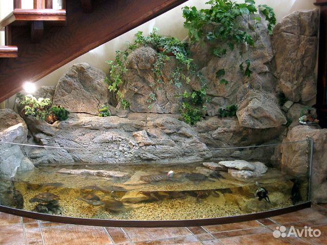 Уличный аквариум на даче своими руками 10