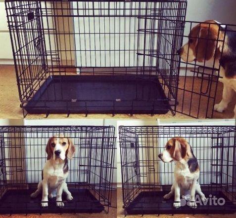 Клетка для собак+поддон.Новые