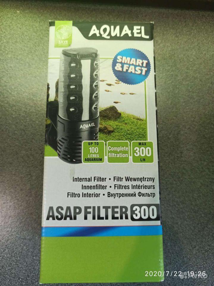 Внутренний фильтр Aquael asap 300 для аквариумов купить на Зозу.ру - фотография № 3