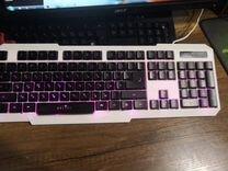 Мембранная клавиатура oklick 740G star strike, USB
