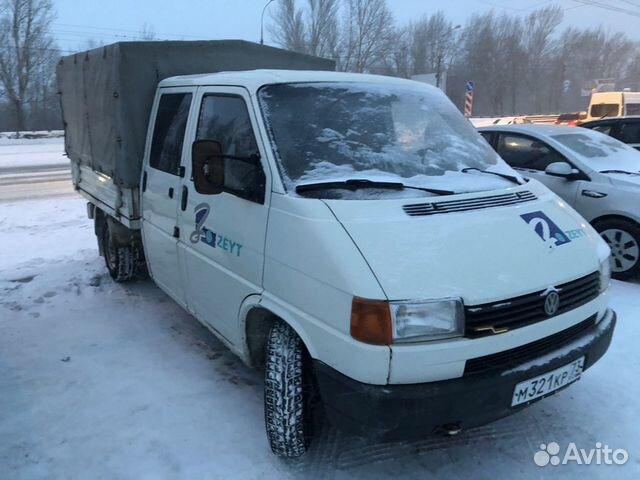 Фольксваген транспортер т4 пикап купить бу на авито для укрытия конвейер