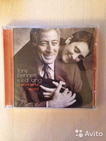 CD Tony Bennett K. D. Lang- a Wonderful world— фотография №1