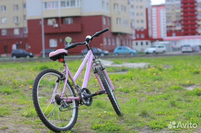 Велосипед для девушки topgear состояние