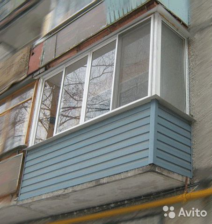 Алюминиевое, безрамное, теплое остекление балконов и лоджий .