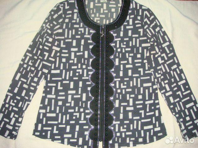 Блузка на молнии купить