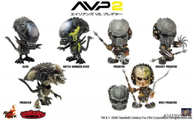 Фигурка Hot toys CosBaby AVP-R 6 шт— фотография №1