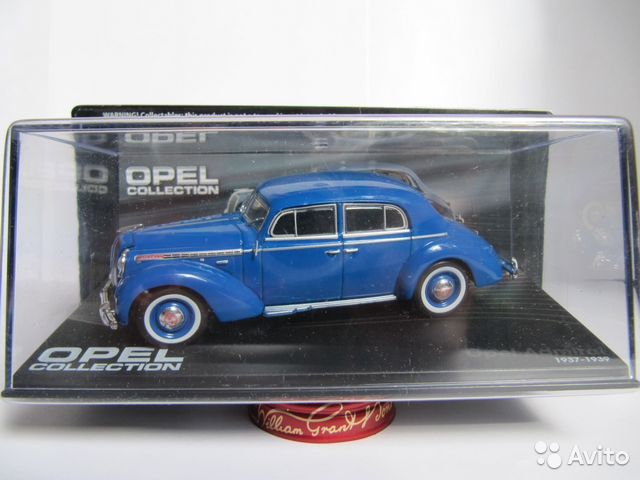 Opel Admiral 1937-1939 1/43 IXO Opel Collection— фотография №1