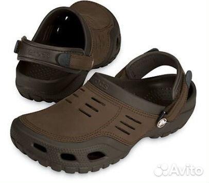 5e10fd07b Сабо сандалии кожаный верх Crocs Yukon 39 - 46 р купить в Москве на ...