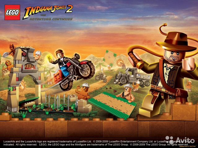 Lego Indiana Jones 2 (PS3) (рус.)— фотография №1