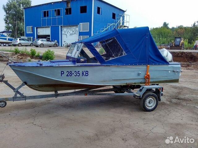 куплю лодку казанку бу без мотора
