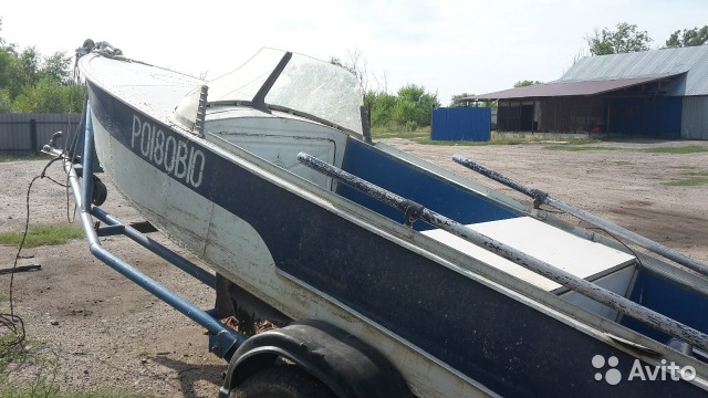 авито воронеж лодка казанка