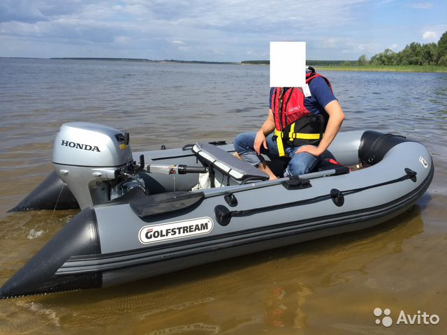 видео лодки пвх гольфстрим