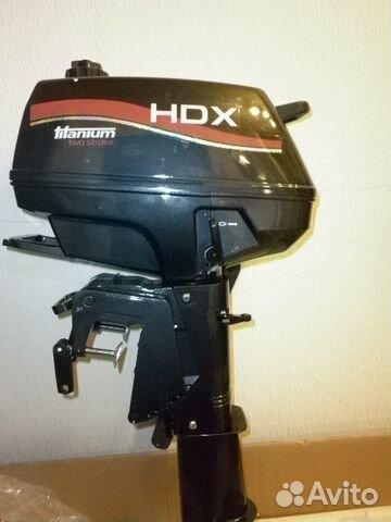 лодочный мотор hdx 5 купить дешево