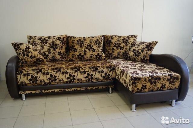 000200 Новый угловой диван. Фабричная мебель