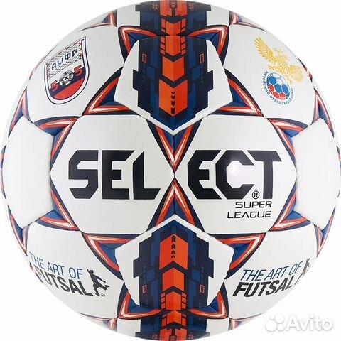 Мини-футбольный мяч Select Super League fifa  2f08254481790