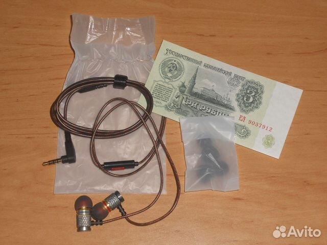 наушники Kz Ed2 с микрофоном купить в москве на Avito объявления