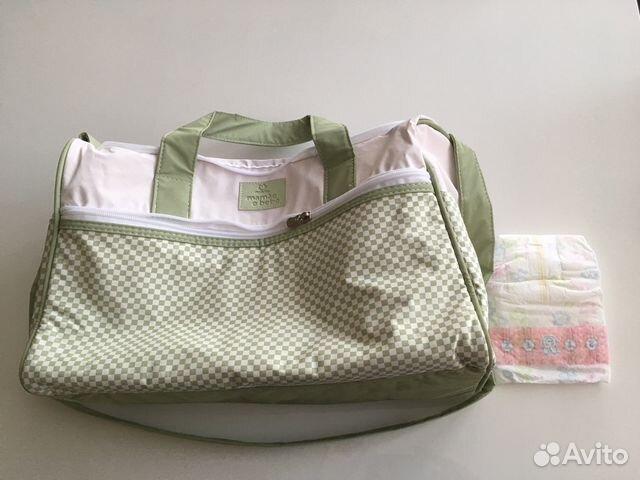 81936106be4b Новая сумка для мамы с пеленальным ковриком купить в Москве на Avito ...