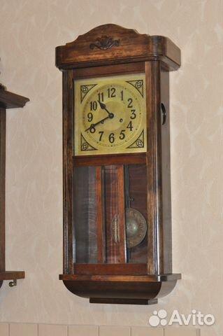 09cbce0bf5b12 Старинные настенные часы Густав Беккер - Хобби и отдых, Коллекционирование  - Московская область, Дубна - Объявления на сайте Авито