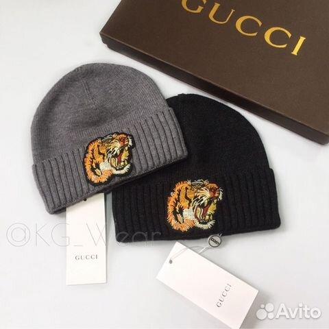 Шапки Gucci с вышивками тигра   Festima.Ru - Мониторинг объявлений 79b2bc69f42