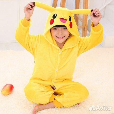 Пижама пикачу детская кигуруми  b81d3f8a572ee