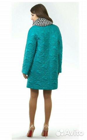 Демисезонное пальто р. 48-50 89206265449 купить 5