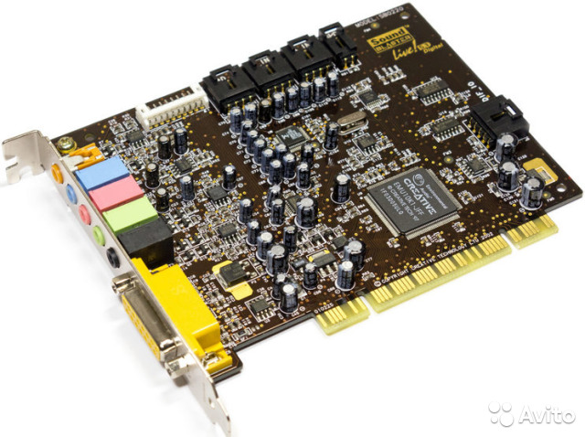 Sound Blaster Live compatible for Windows 7