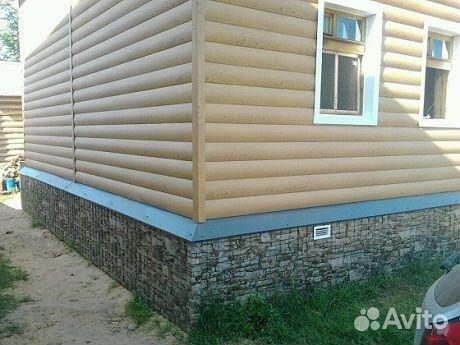 Отделка фасадов(Сайдинг,блок хаус,имитация бруса) купить 6