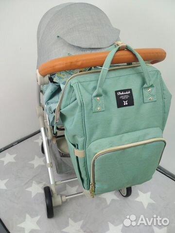 d08ebb0bbe06 Сумка - рюкзак для мамы новые купить в Бурятии на Avito — Объявления ...