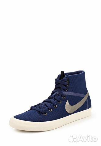 4f77f0d1b3cb Высокие женские кеды Nike wmns Primo Court Modern— фотография №1
