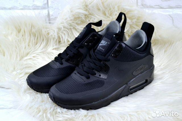 d612b913 Кроссовки Nike Air Max 90 Mid black а.118001   Festima.Ru ...