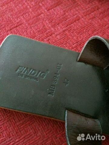 Абсолютно новые кожаные шлепанцы 89134842209 купить 2
