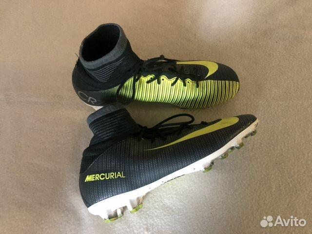 Бутсы Nike Mercurial с носком 35-36 размер купить в Краснодарском ... eaa6417eb4a