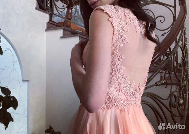 2879273ab35 Вечернее платье ручной работы купить в Ставропольском крае на Avito ...