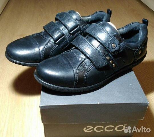 Ecco. Новые закрытые туфли для девочки  0918c90d5221d