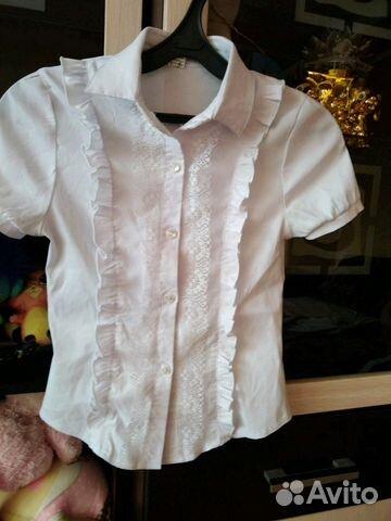 4df48d3cfb8 Продаётся блузка на девочку купить в Воронежской области на Avito ...