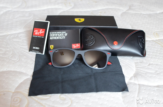 Очки Ray-Ban Ferrari оригинал RB4195M   Festima.Ru - Мониторинг ... 3793c2fc440
