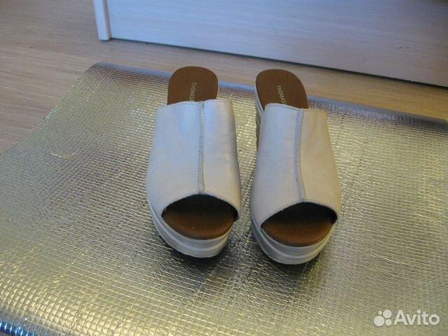 Новые кожаные Сабо Thomas Munz 89502260796 купить 3