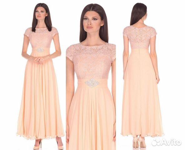 5752b69c1c3d Красивое вечернее платье на выпускной купить в Москве на Avito ...
