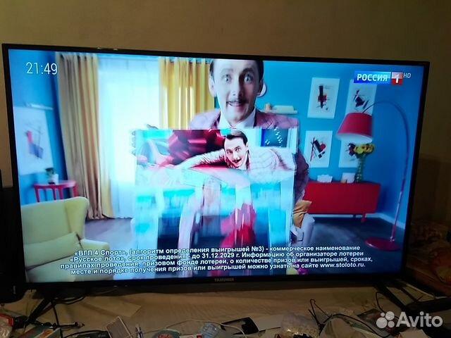Smart TV Telefunken диагональ 43