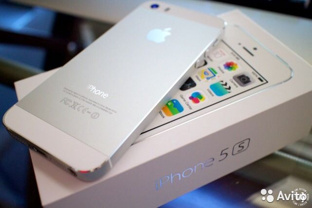 iPhone 5s 64 silver A1457 Рост тест