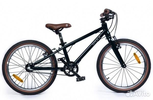 Велосипед 20д shulz Bubble черный YS-768