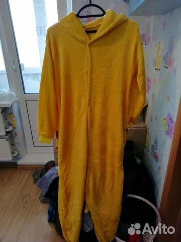 Пижама кигуруми пикачу  120e07f6a8346