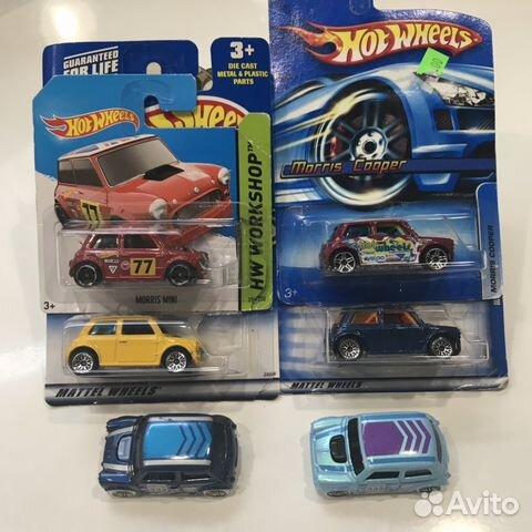 Hot Wheels Mini Morris Cooper купить в москве на Avito