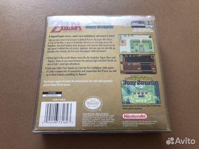 The Legend of Zelda: A Link to the Past (GBA) купить в Москве на